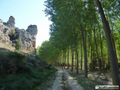 Río San Juan_Duratón; los galayos madrid transpirenaica ruta de las nogaledas calzada romana